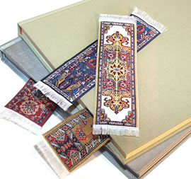 Oriental Carpet Bookmarks